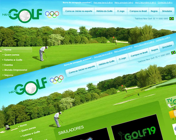 New Golf - Site